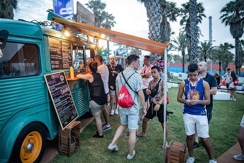 Bares (bebida y comida) exclusivos en el Área Premium